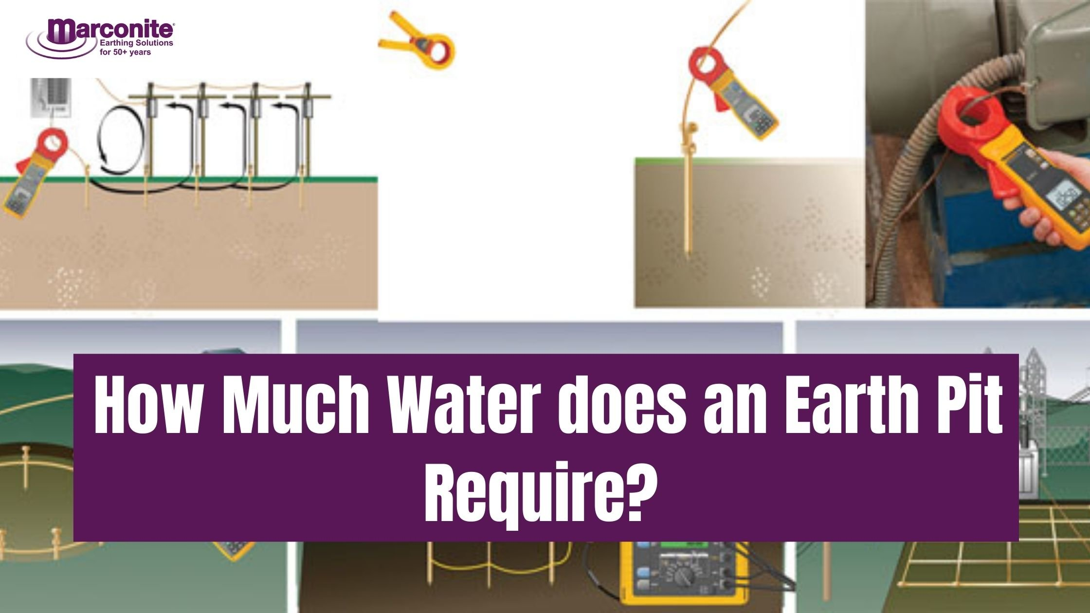 how much water does an earth pit require ?